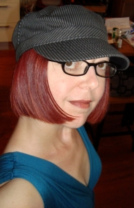 For brunch I decided to wear my new turquiose summer dress from Nordstrom and this cute, little hat I picked up.