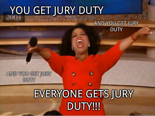Do i have to report back to work after jury duty